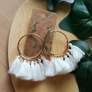 Jewelry - Bangle Tassel Boho Dangle Earrings